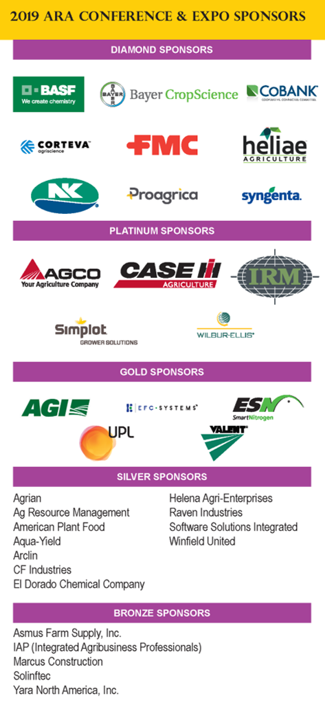 2019 ARA Conference Exhibitors List