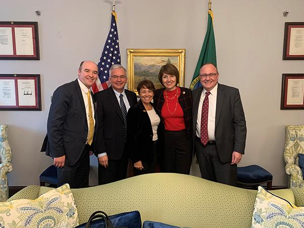 NW Team with Washington Rep.
